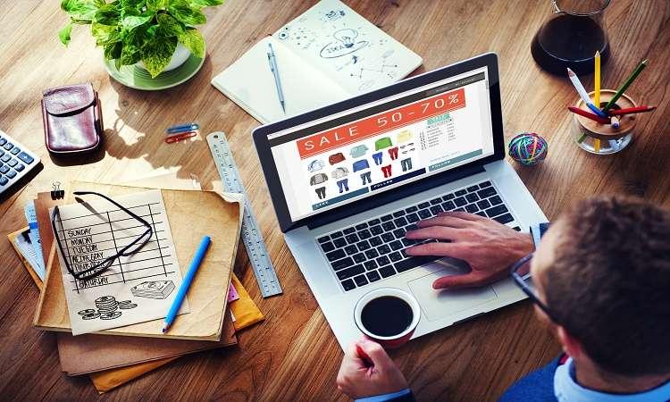 Digital Online Marketing Commerce Sale Concept