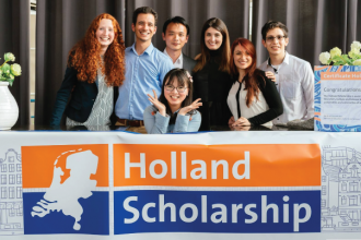 hỗ trợ xin học bổng holland scholarship
