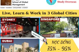 Hội thảo du học trường SP Jain – Săn học bổng lên đến 95% học phí